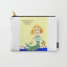 Sea Glass Mermaid Carry-All Pouch
