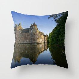 Chateau de Trecesson 2 Throw Pillow