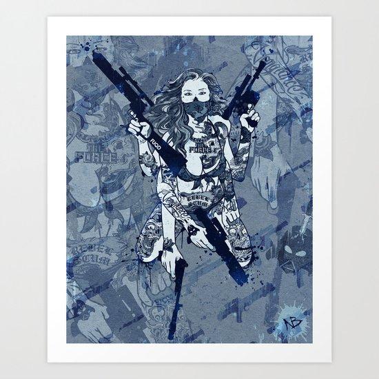 Leia 2012 Art Print
