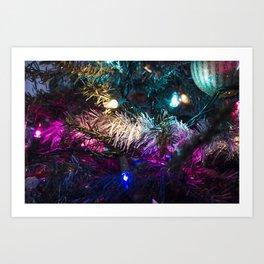 Christmas Lights 3 Art Print
