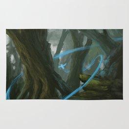Mystic Owl Forest Rug