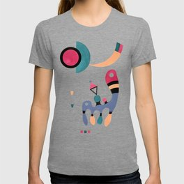 Kandinsky Composition, 1944 Artwork Reproduction, Design for Posters, Prints, Tshirts, Men, Women, Kids, Youth T-shirt