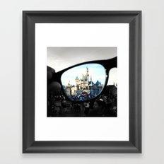 Put Your Imagination Into Focus Framed Art Print