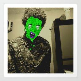 Zombie Person - 2  Art Print