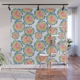 Color My Swirled Wall Mural