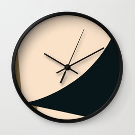 Minimal abstract art Wall Clock