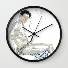 Departed Wall Clock