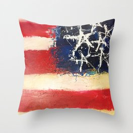 Made in America Throw Pillow
