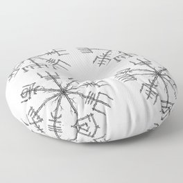 Vegvisir Floor Pillow