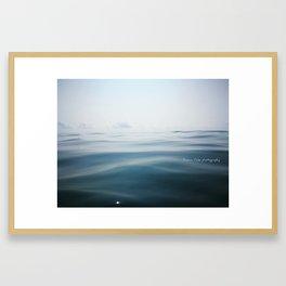 Mediterranean textures Framed Art Print