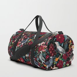 FLORAL AND BIRDS XX Duffle Bag
