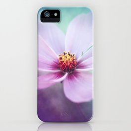 BEAUTY OF THE FOREST - PINK COSMEA FLOWER iPhone Case