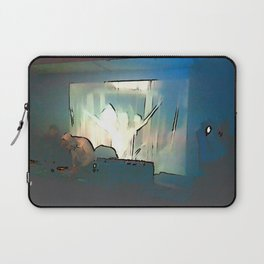 BLACK Electronic Underground #3 Laptop Sleeve