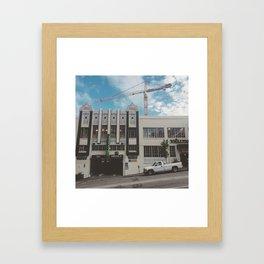 Whole Foods, California St.  Framed Art Print