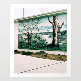 Goldrush in Foster, Victoria, Australia Art Print