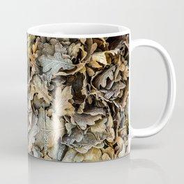 Frozen Leaves Coffee Mug