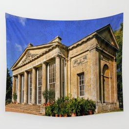 Temple Greenhouse Wall Tapestry