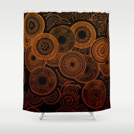 Electric Cooking Shower Curtain