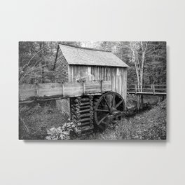Cable Mill - Old Mill in Great Smoky Mountains Metal Print