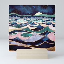 Moonlit Ocean Mini Art Print