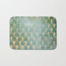 Damask Vintage Pattern 02 Bath Mat