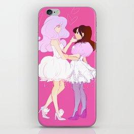 jellyfish princess iPhone Skin