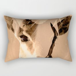 Beautiful and fast - Impala portrait Rectangular Pillow