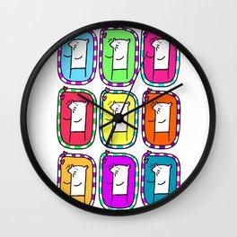 mices Wall Clock