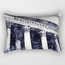 The Roman Pantheon Rectangular Pillow