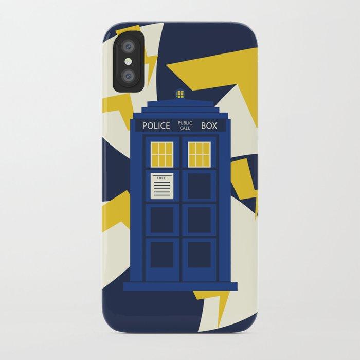 Jenni's Prints Dr Who Tardis iPhone Case