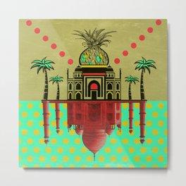 pineapple architecture 2 Metal Print