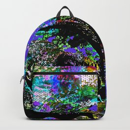 Elephant Victory Abstract Backpack