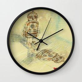 Robots and sentiments Wall Clock