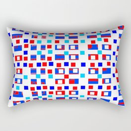 Color square 13 Rectangular Pillow