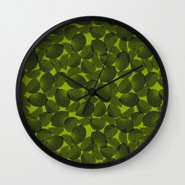 Lemon vGreen Wall Clock