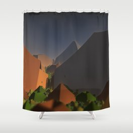 Frontier Shower Curtain