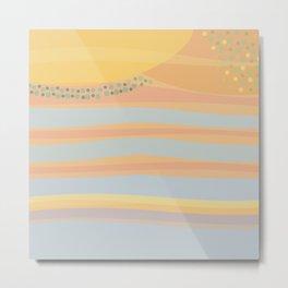 Nr. 19 - Here comes the sun Metal Print