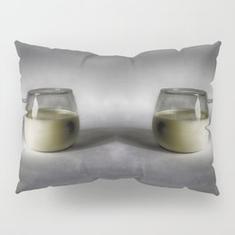 Still life with a cup of milk Pillow Sham