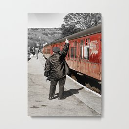 The Whistle Blower Metal Print