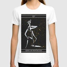A Tarot of Ink 14 King of Pentacles T-shirt