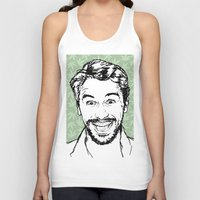 james franco Tank Tops featuring Franco by naidl