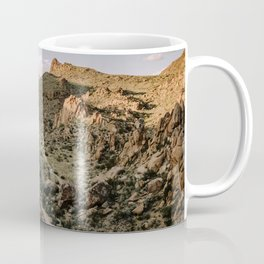 Balanced Rock Valley View in Big Bend - Landscape Photography Coffee Mug