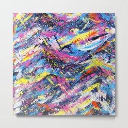 Colorful Abstract Art Metal Print