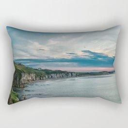White rocks beach,ireland,Northern Ireland,Portrush Rectangular Pillow