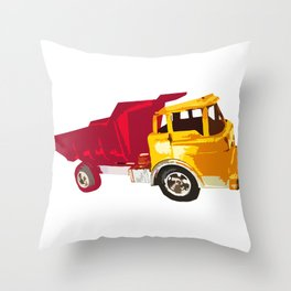 Dump Me Truck! Throw Pillow