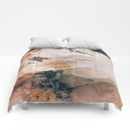 Dreamy Large Quartz Crystals Comforters