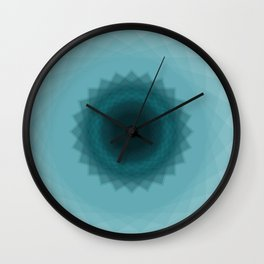 The eye of flower Wall Clock
