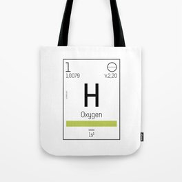 Oxygen - chemical element Tote Bag