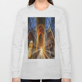 Bath Abbey Sun Rays Long Sleeve T-shirt