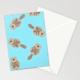 Floating friends Stationery Cards